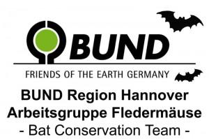 Das neue Logo der AG Fledermaus des BUND