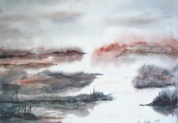 Aus der Reihe Fotografien der gemalten Bilder von Margarete Becker